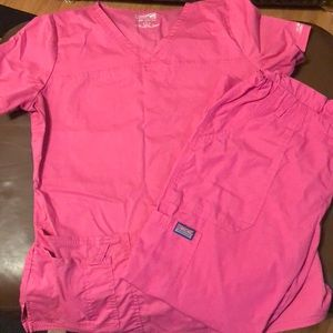 Cherokee scrubs pink